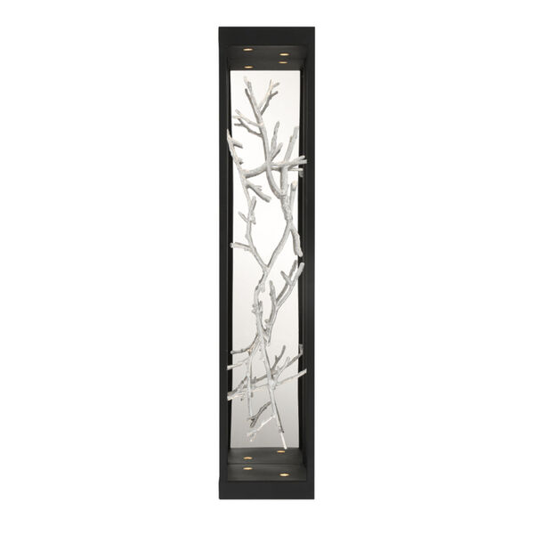 Aerie Black and Silver Four-Light LED Wall Sconce, image 2