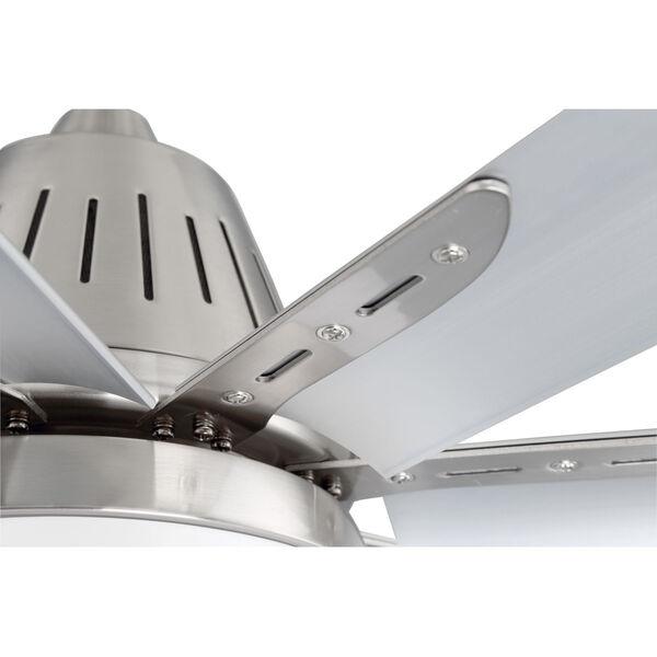 Wingtip Brushed Polished Nickel 72-Inch Ceiling Fan, image 5