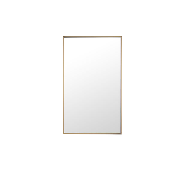Eternity Brass 24-Inch Mirror, image 2