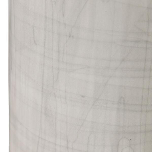 Zesiro Beige and Polished Nickel Table Lamp, image 4