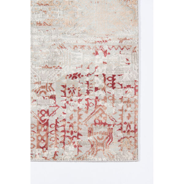Genevieve Red Rectangular: 3 Ft. 10 In. x 5 Ft. 7 In. Rug, image 4