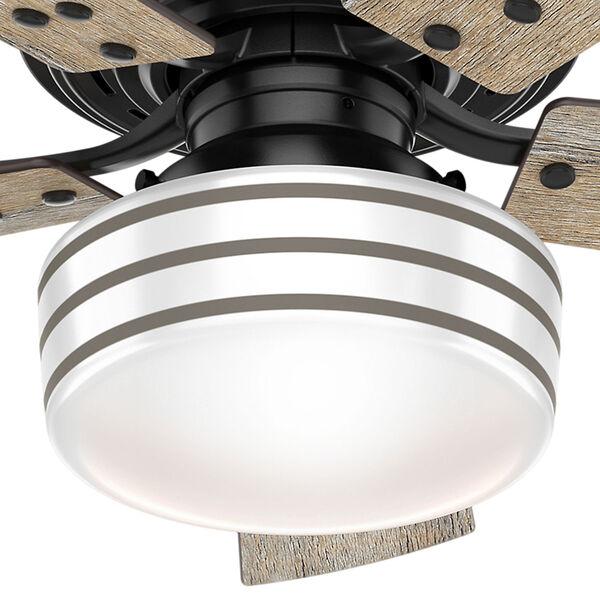 Cedar Key Matte Black 44-Inch One-Light LED Adjustable Ceiling Fan, image 3