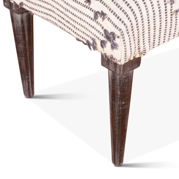 Algiers Off White and Black Accent Bench, image 5