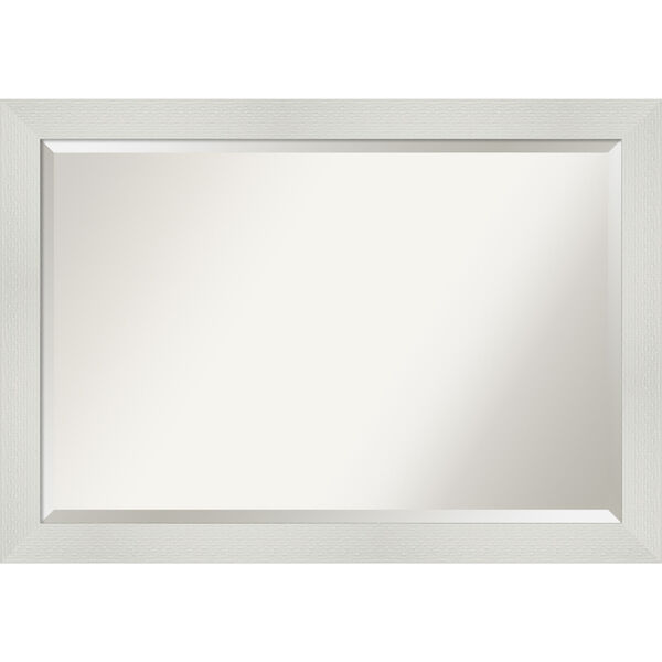 Mosaic White 40W X 28H-Inch Bathroom Vanity Wall Mirror, image 1