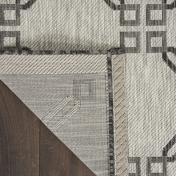 Garden Party Charcoal and Ivory Indoor/Outdoor Area Rug, image 3