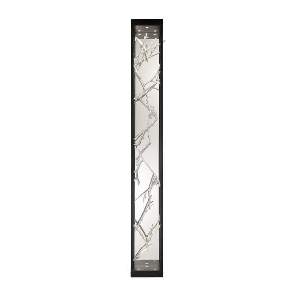 Aerie Black and Silver Six-Light LED Wall Sconce, image 2