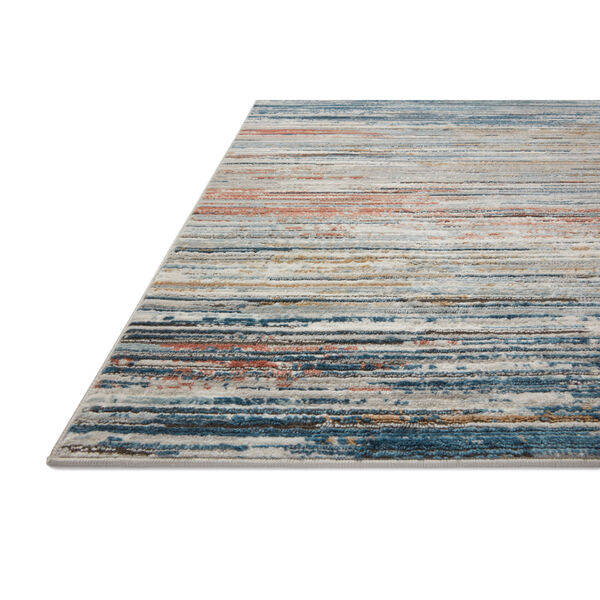 Bianca Pebble, Spice and Blue 2 Ft. 8 In. x 13 Ft. Area Rug, image 3