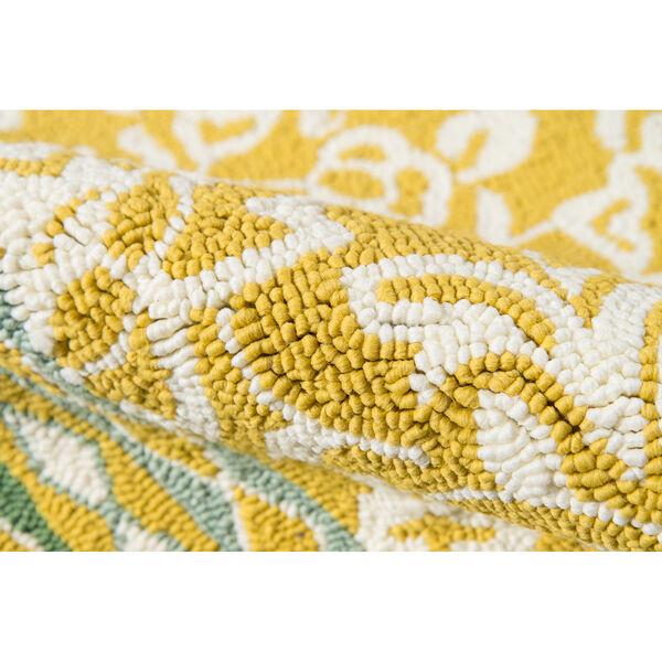 Rokeby Road Yellow Indoor/Outdoor Rug, image 4