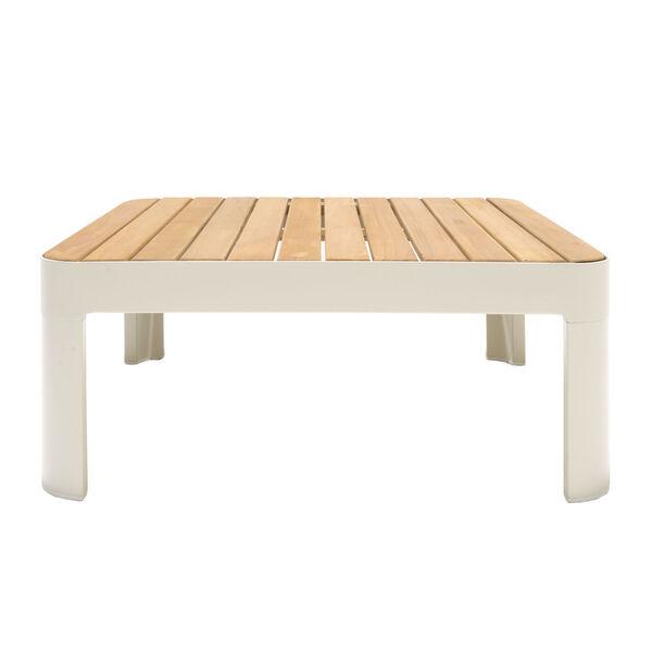 Portals Teak Matte Sand Three-Piece Outdoor Furniture Set, image 3