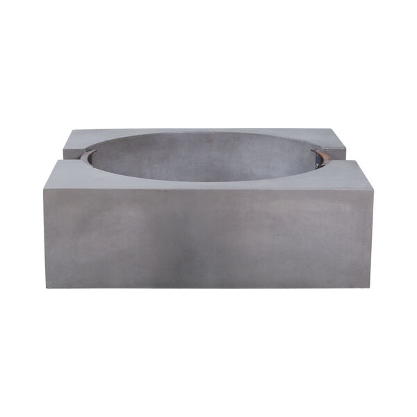 Volcano Polished Concrete Outdoor Fire Pit, image 5
