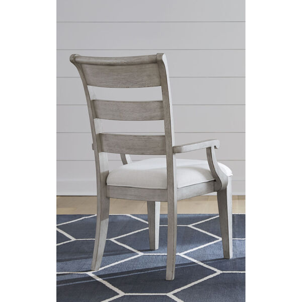 Belhaven Weathered Plank Arm Chair, Set of Two, image 4