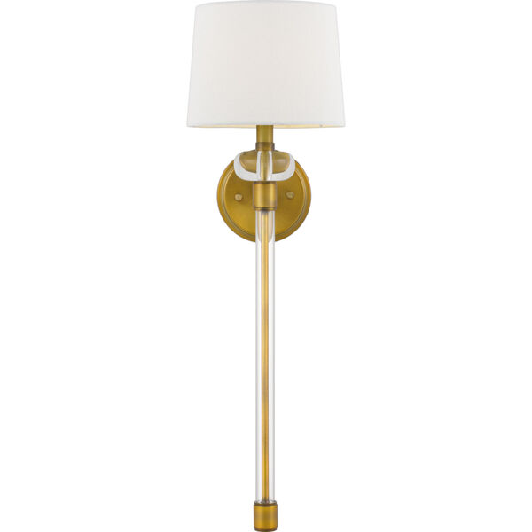 Barbour Weathered Brass One-Light Wall Sconce, image 3