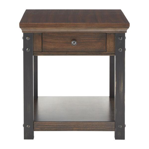 Newton Dark Cherry End Table, image 2