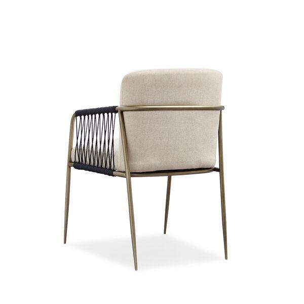 Modern Artisan Remix Beige Arm Chair, image 3