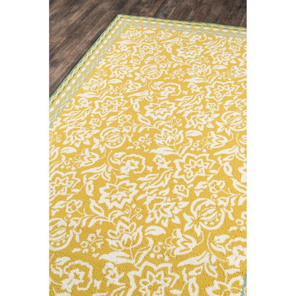 Rokeby Road Yellow Indoor/Outdoor Rug, image 2