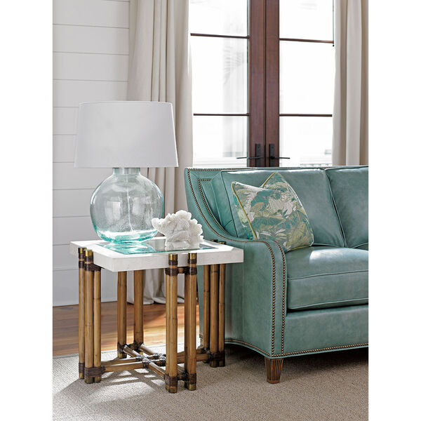 Twin Palms Brown Los Cabos Lamp Table, image 2