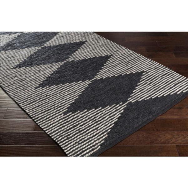 Lexington Black and Khaki Rectangular Rug, image 4
