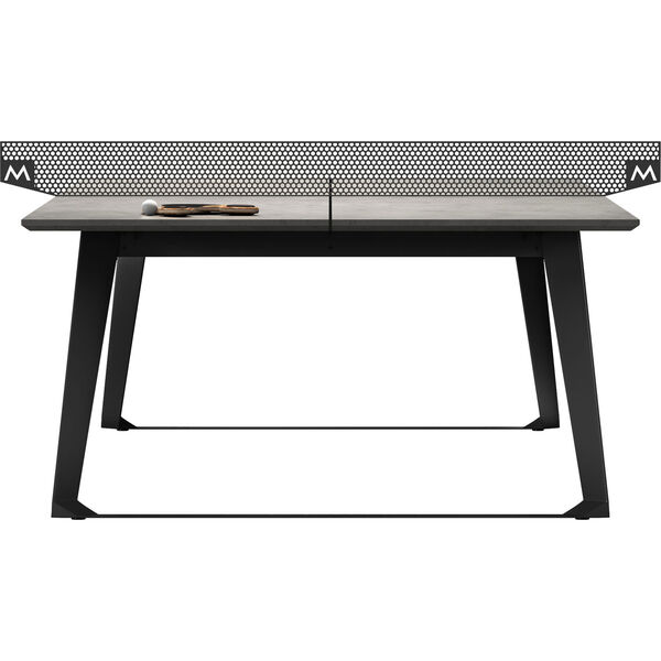 Amsterdam Gray Concrete Ping Pong Table, image 13