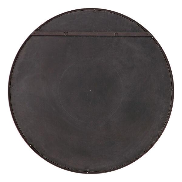 Benedo Rustic Black and Gold Round Mirror, image 6