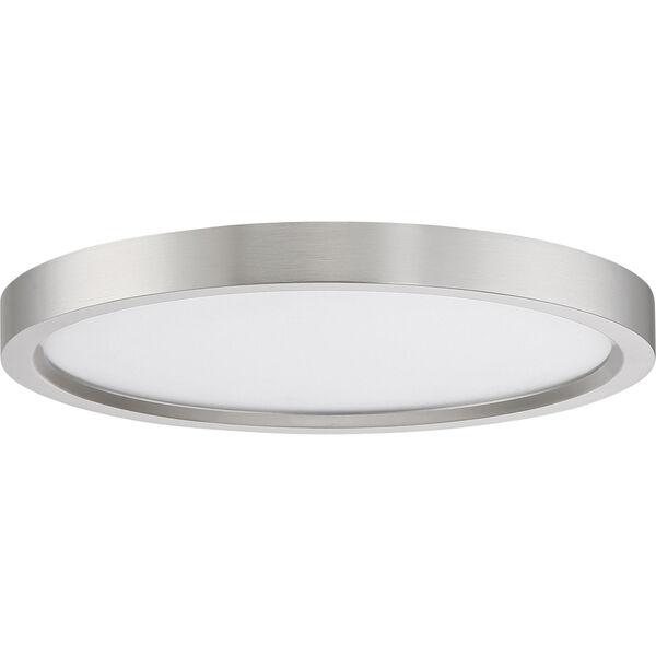 Outskirt Brushed Nickel 11-Inch LED Flush Mount, image 2