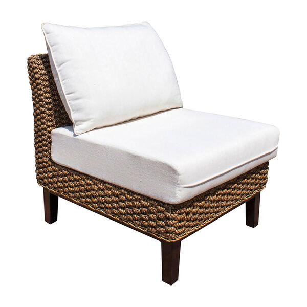 Sanibel Armless Chair with Cushion, image 1