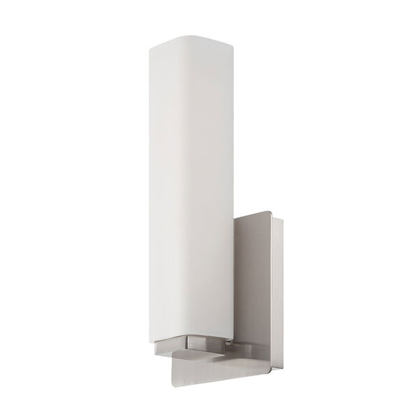 Vogue Brushed Nickel 5-Inch LED Wall Sconce, image 1