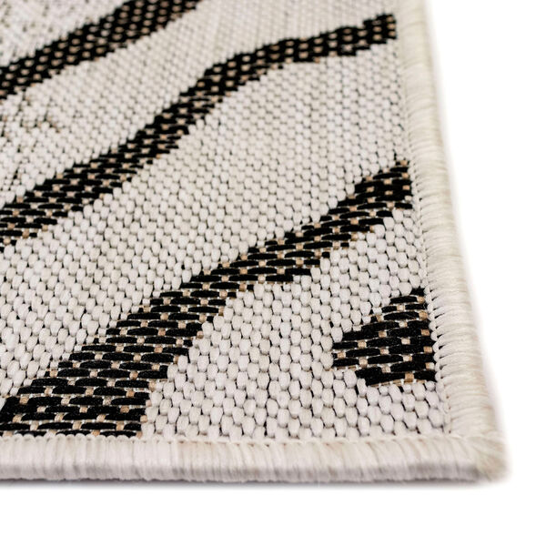 Carmel Sand Zebra Indoor/Outdoor Rug, image 5