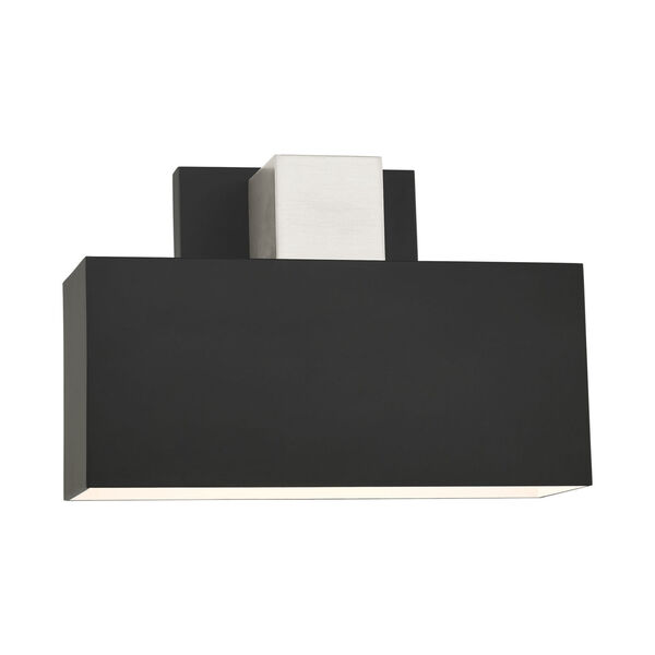 Lynx Black One-Light Outdoor ADA Wall Sconce, image 3