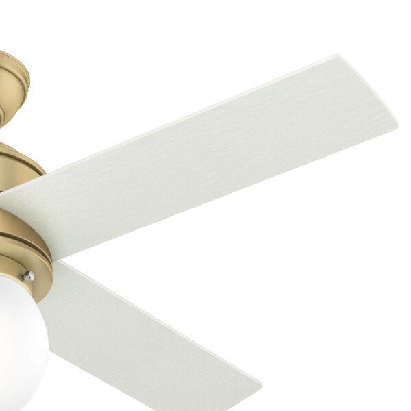 Hepburn Modern Brass 44-Inch LED Ceiling Fan, image 4