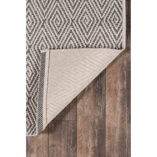 Downeast Wells Charcoal Rectangular: 6 Ft. 7 In. x 9 Ft. 6 In. Rug, image 6
