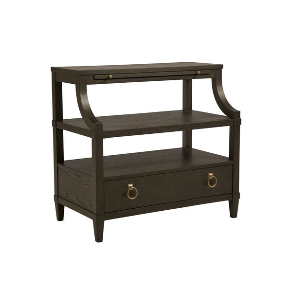 Soliloquy Cocoa Bedside Table, image 1