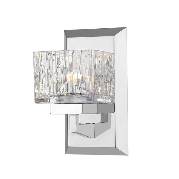 Rubicon Chrome LED Bath Sconce, image 1