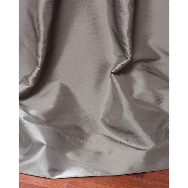 Platinum 96 x 50-Inch Grommet Blackout Faux Silk Taffeta Curtain Single Panel, image 3