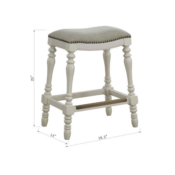 Hampton Saddle Seat Counter Stool, image 5
