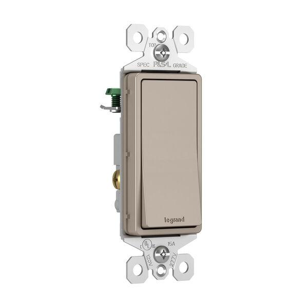 Nickel 15A Single Pole Switch, image 2