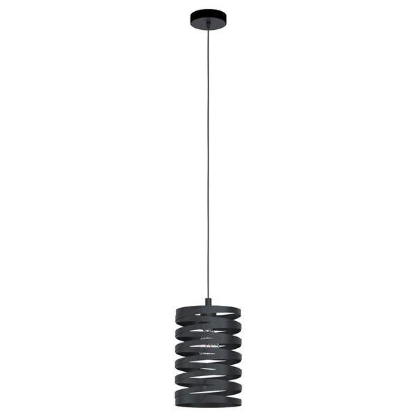 Cremella Black One-Light Mini Pendant, image 1
