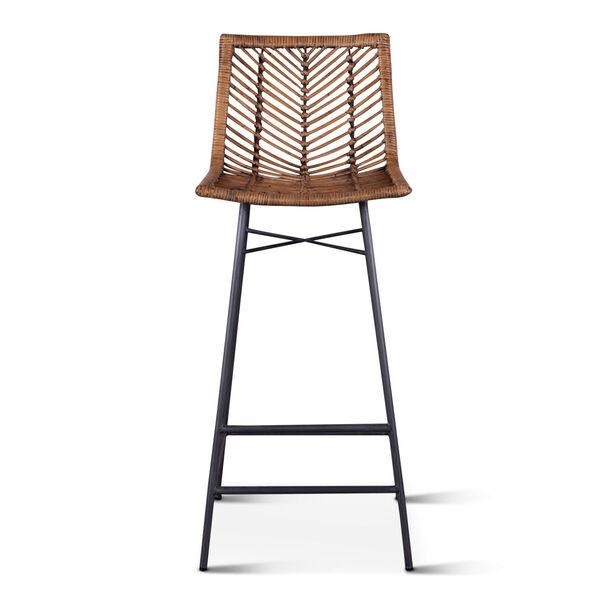 Bali Brown Honey Washed Bar Chair, Set of 2, image 1