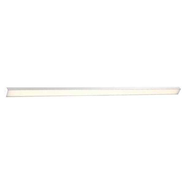 Revel Brushed Aluminum 98-Inch 3000K LED Bath Bar Light, image 1
