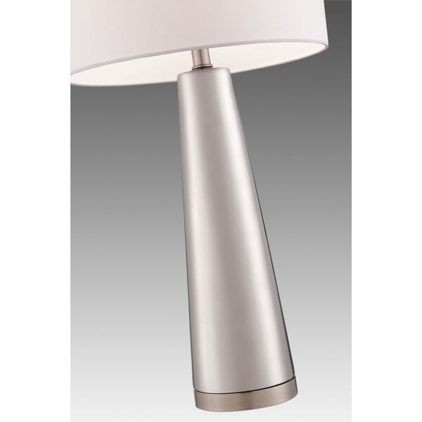 Tyrone Silver One-Light Table Lamp, image 2