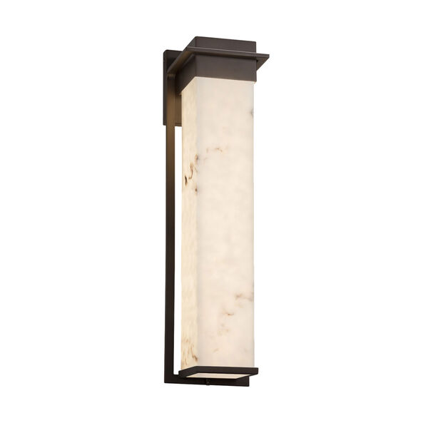 LumenAria Pacific Dark Bronze 24-Inch LED Outdoor Wall Sconce, image 1