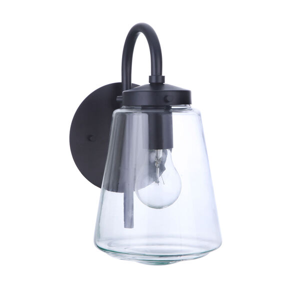 Laclede Midnight Six-Inch One-Light Outdoor Wall Sconce, image 1