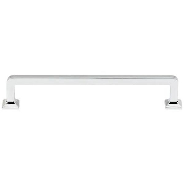 Polished Chrome 6-Inch Pull, image 1