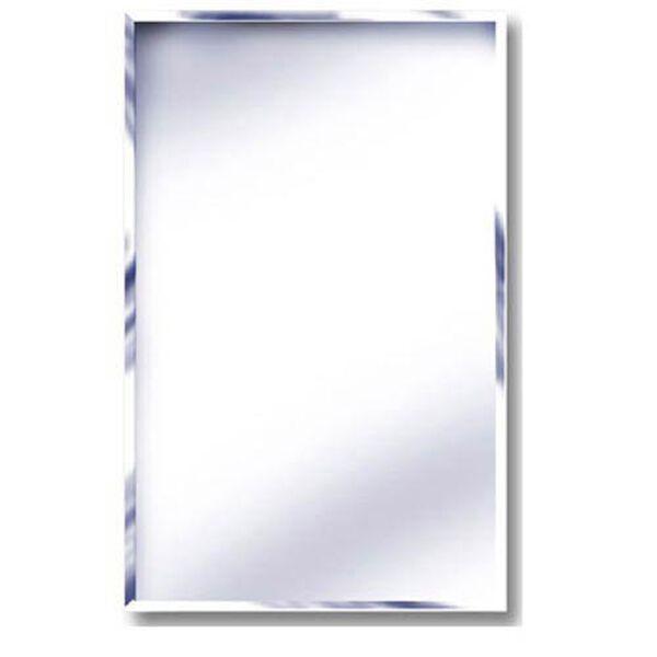 16 x 22 Beveled Mirror Recessed Steel Medicine Cabinet, image 1