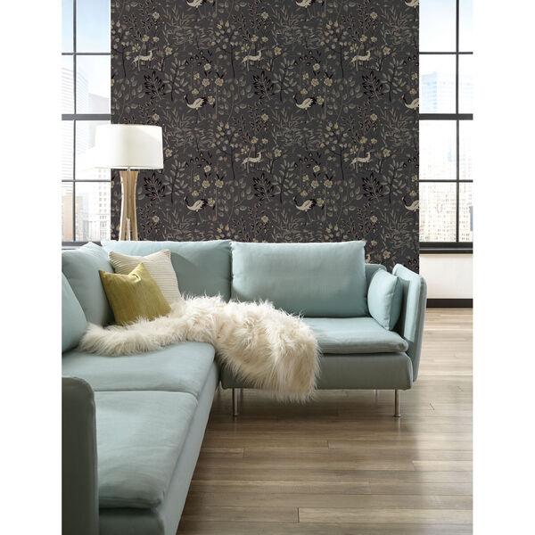 Ronald Redding Urban Dark Grey Aspen Wallpaper, image 3