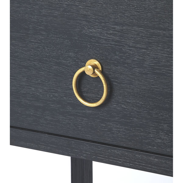 Blue 26-Inch Accent End Tables, image 5