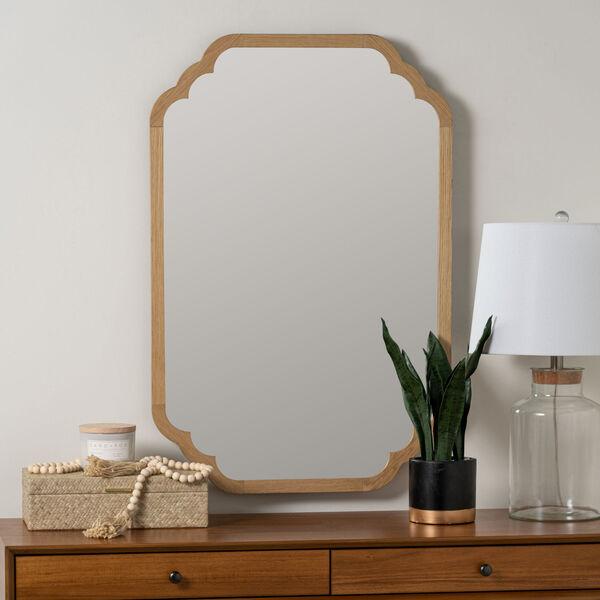 Carol Natural 36-Inch x 24-Inch Wall Mirror, image 1