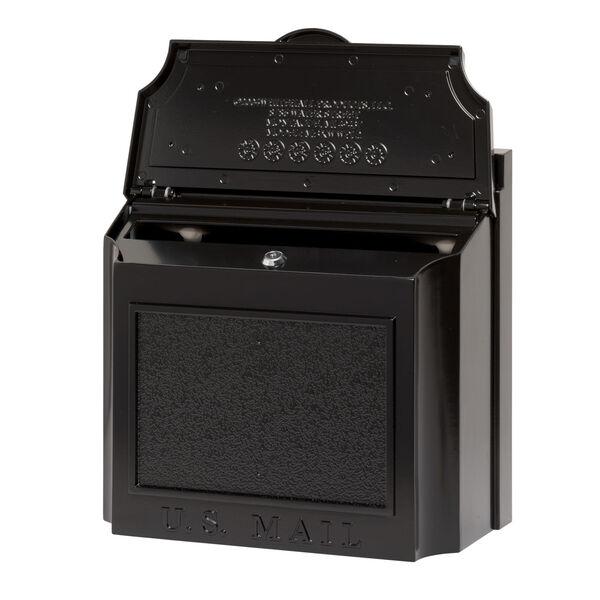 Black Wall Mailbox, image 2