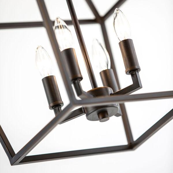 Kenwood Rubbed Bronze Four-Light Lantern Pendant, image 16