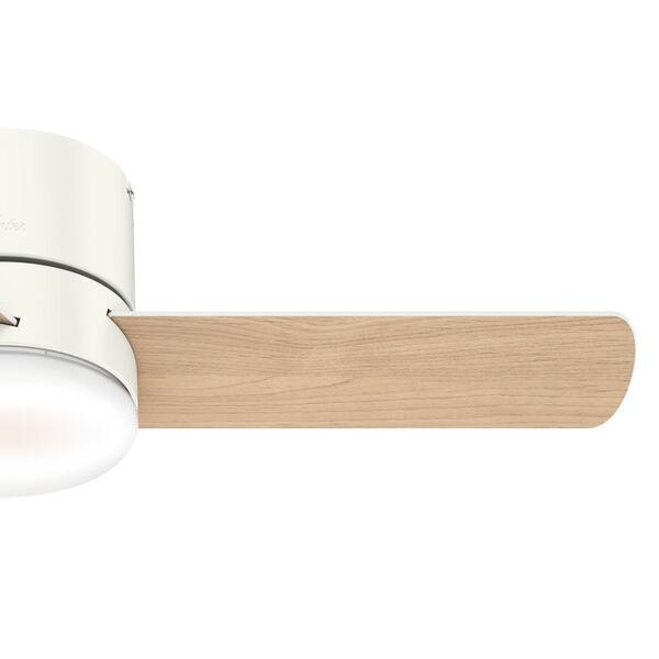Minimus Low Profile Fresh White 44-Inch LED Ceiling Fan, image 5