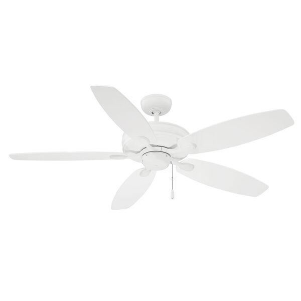 Kentwood White  Five-Blade Ceiling Fan, image 3
